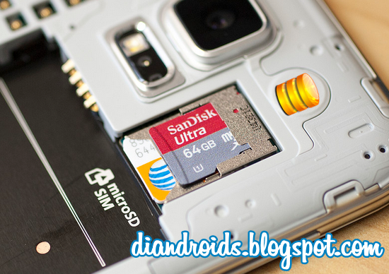 android how to set sd card for media