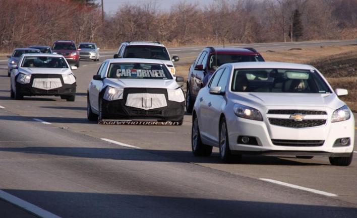 2014 2015 Chevrolet Malibu first spy photos