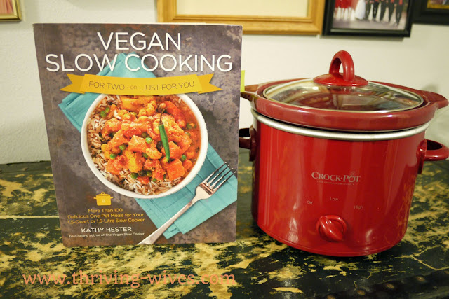 vegan slow cooker and mini crockpot giveaway