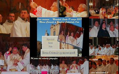 Come eravamo... il videoclip fotografico di Mercoledì Santo - Messa Crismale del 19 marzo 2008
