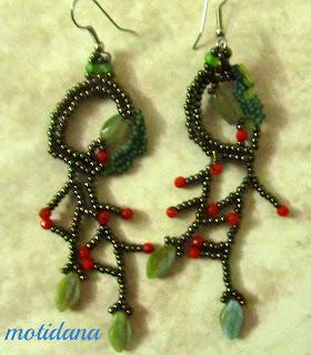 freeform beadwork
