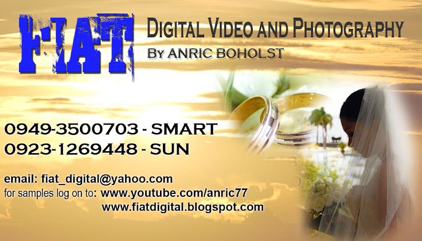 FIAT Digital Video and Photography