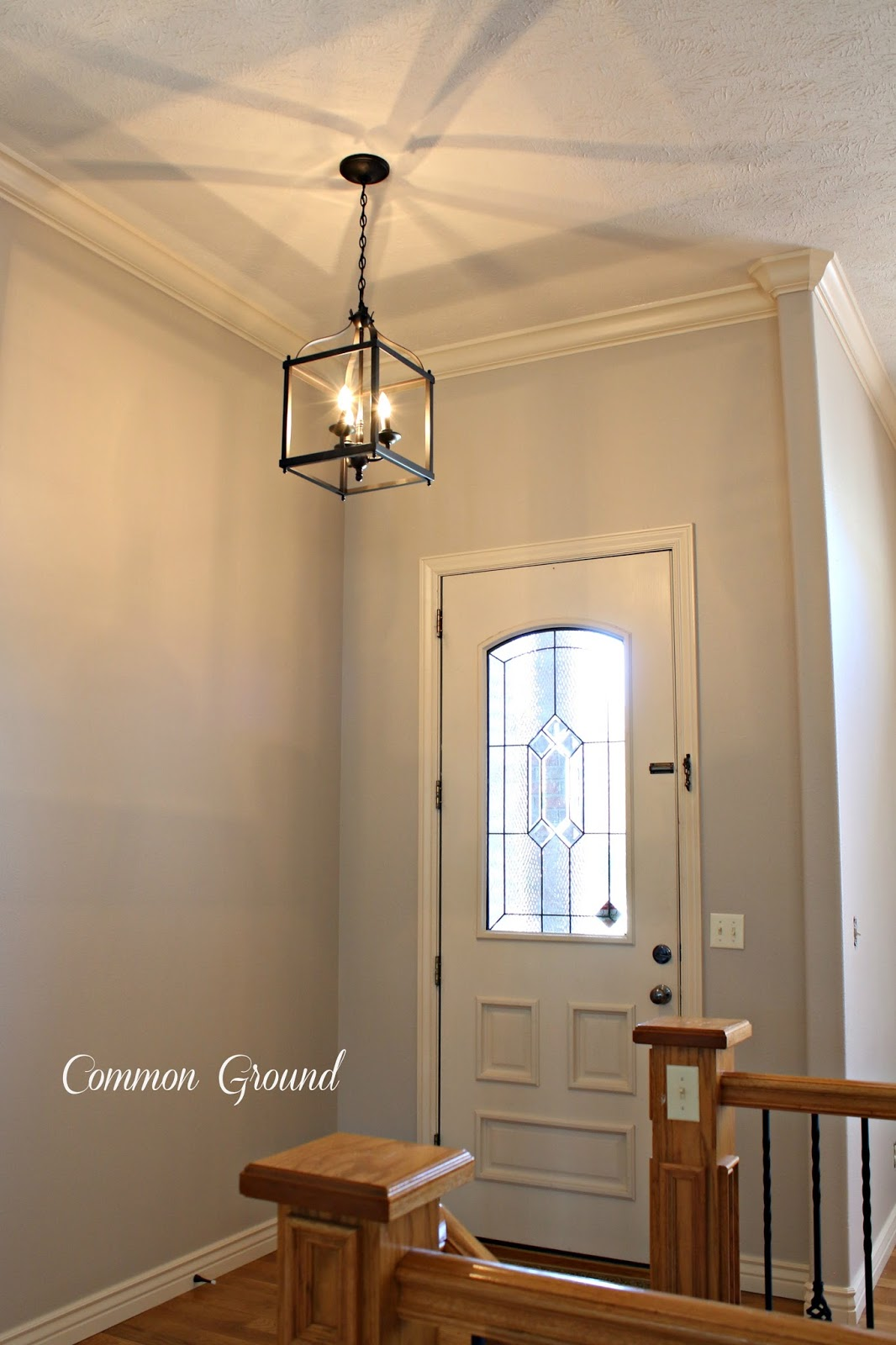Fresh Com contacted me about checking out their lighting I was thrilled because they graciously sent me this wonderful lantern the Larkin Three Light Pendant