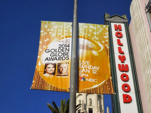 2014 Golden Globe Awards banner