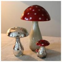 champignon chehoma rouge et argent