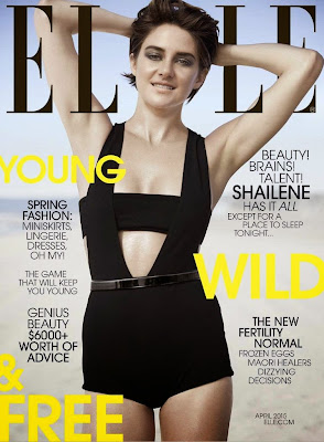 Shailene Woodley Elle Magazine April 2015