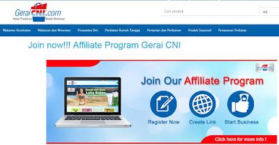 Affiliate Program Gerai CNI
