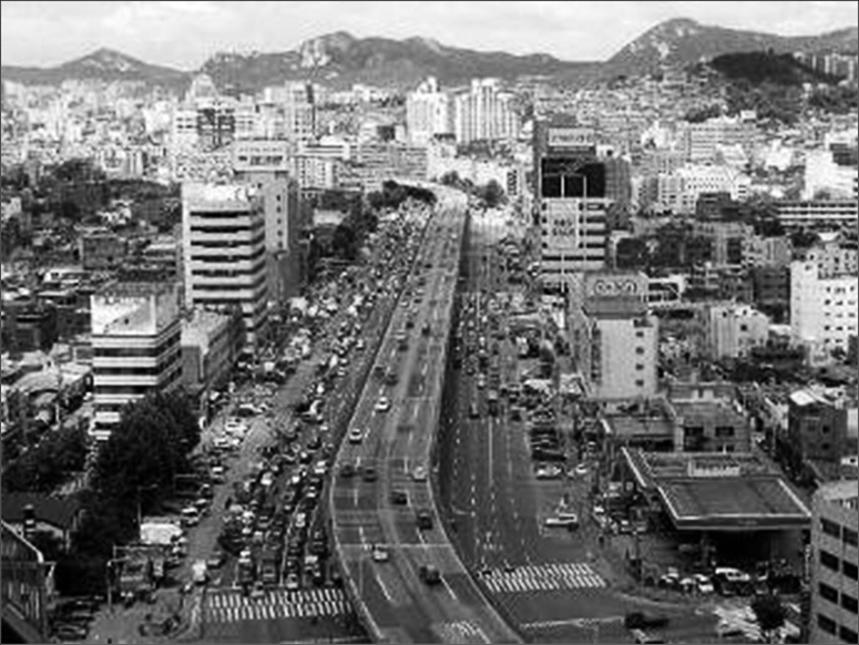 Korea Now and Then: Cheonggyecheon (청계천)