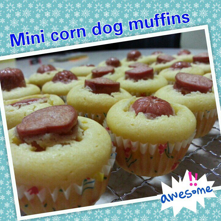 Culinary Kitchenette: Mini Corn Dog Muffins by Gwen Chow
