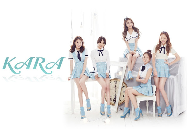 KARA Bye Bye Happy Days Wallpaper
