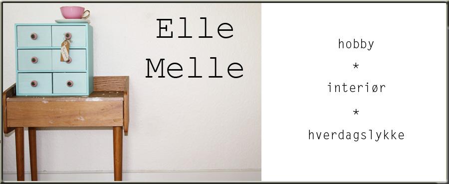 ElleMelle blogg