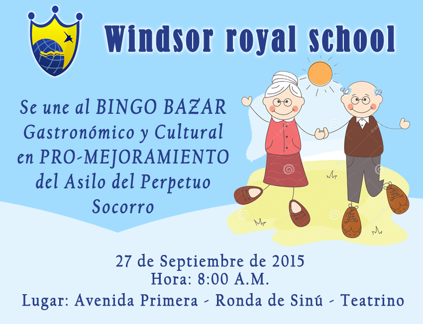 Windsor royal school bingo bazar gastron mico y cultural for Bazar gastronomico en once