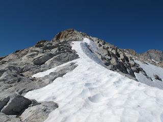 Am Ostgrat von Mount Conness