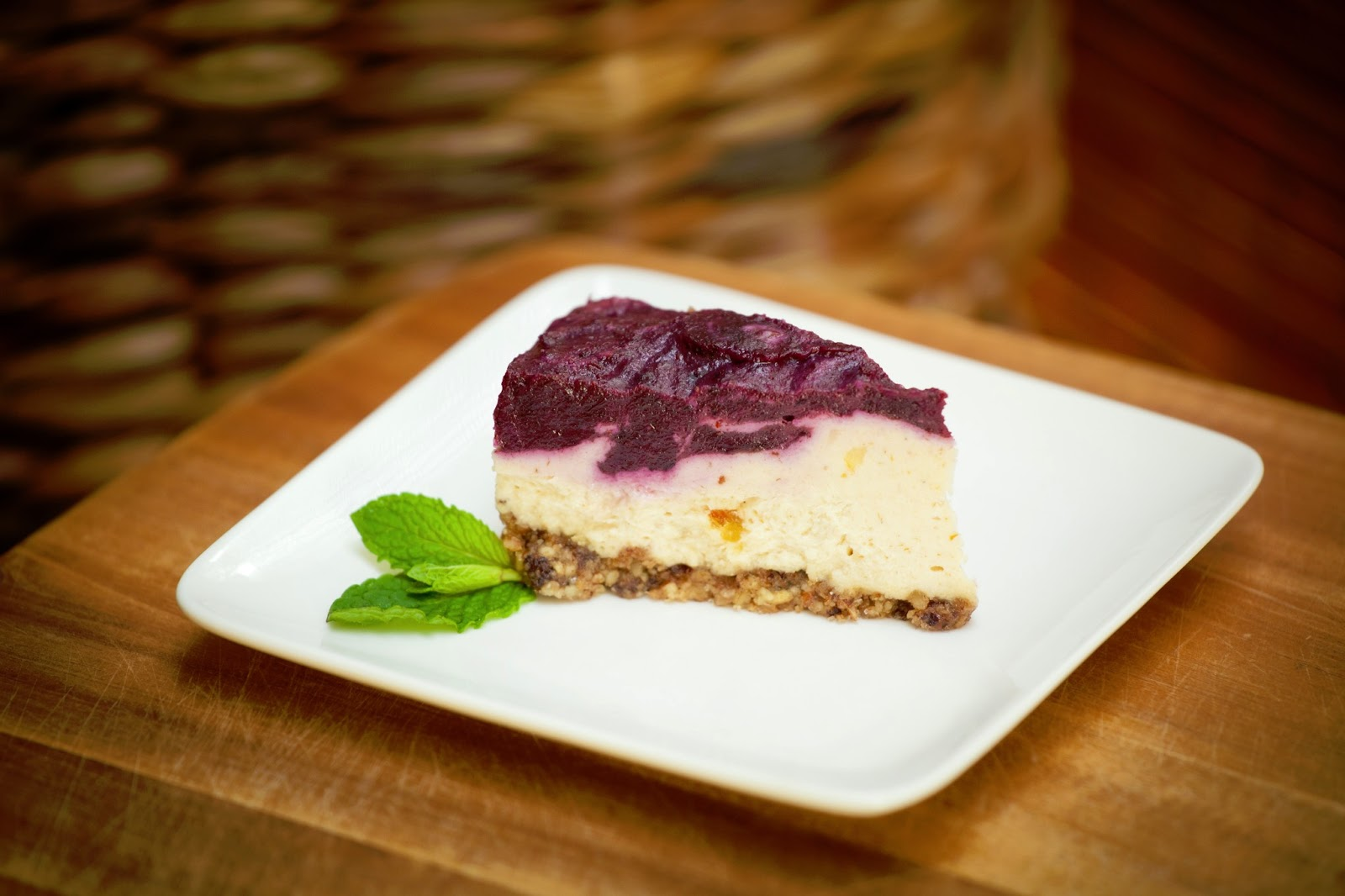 Cafe by Tao Raw Restaurant North Vancouver Cheesecake