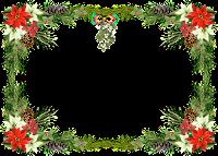 Moldura de Natal com fundo transparente - 8