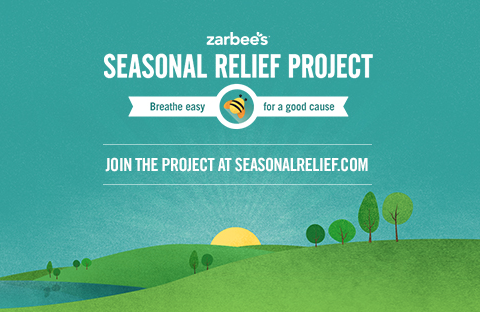 Zarbee's Seasonal Relief Project