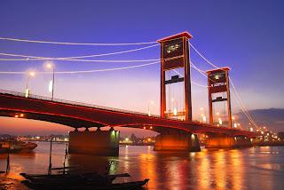 Jembatan Ampera - Landmark Kota Palembang - Hotel Murah di Palembang