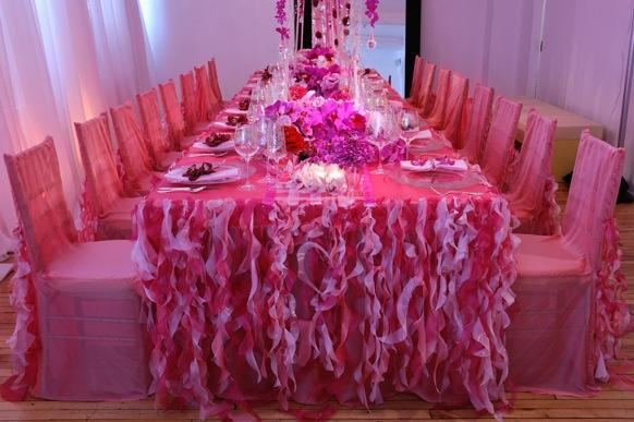 Как сшить  свадебный стол