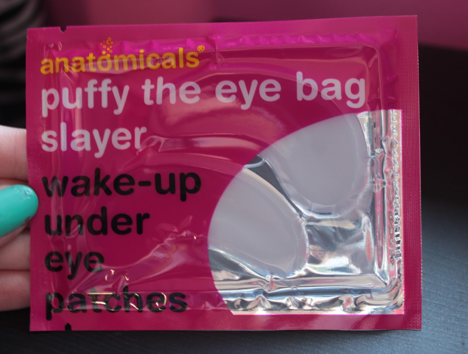 Anatomicals - Puffy The Eye Bag Slayer Wake-Up Under Eye Patches