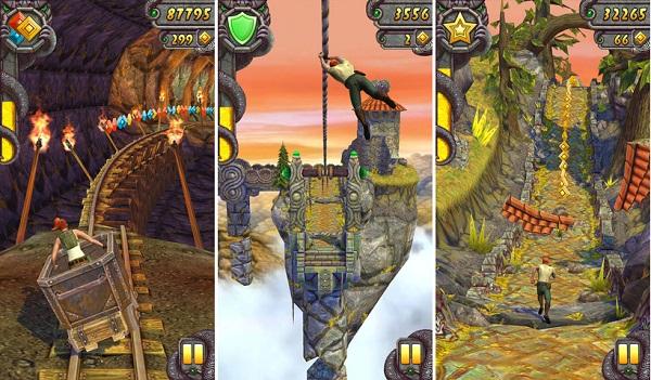 Screenshots of Temple Run 2