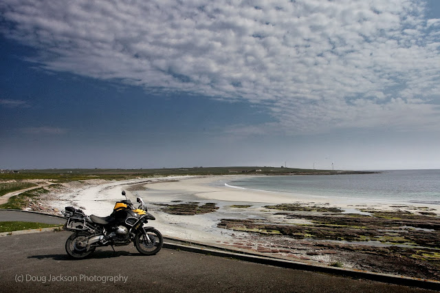 Exploring Orkney by Motorcycle