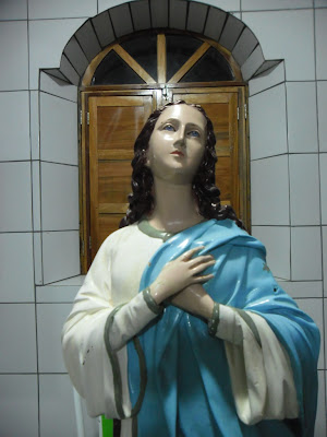 Comunidade de Rafael Godeiro envia Imagem de Nossa Senhora para restauração