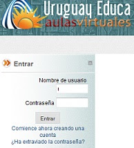 Portal Uruguay Educa:Aula virtual