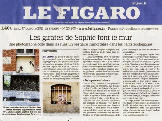 LE FIGARO              17 octobre 2011
