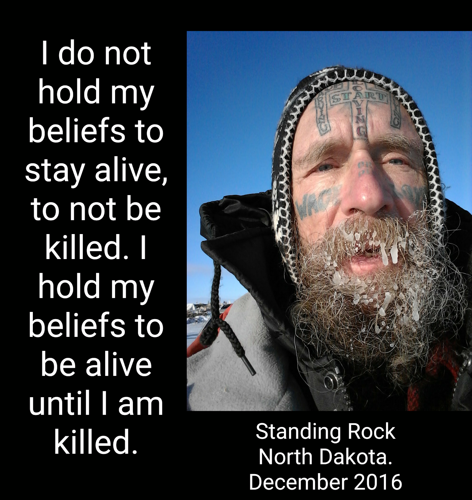 I hold my beliefs to be alive