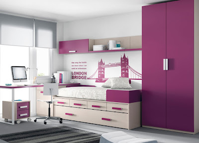 Muebles ros kids up 2 - Distribucion habitacion juvenil ...