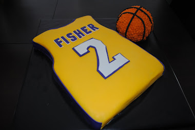 Lakers Bday Cake