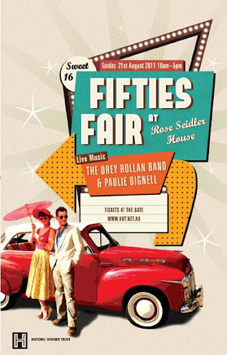 Fifties Fair poster