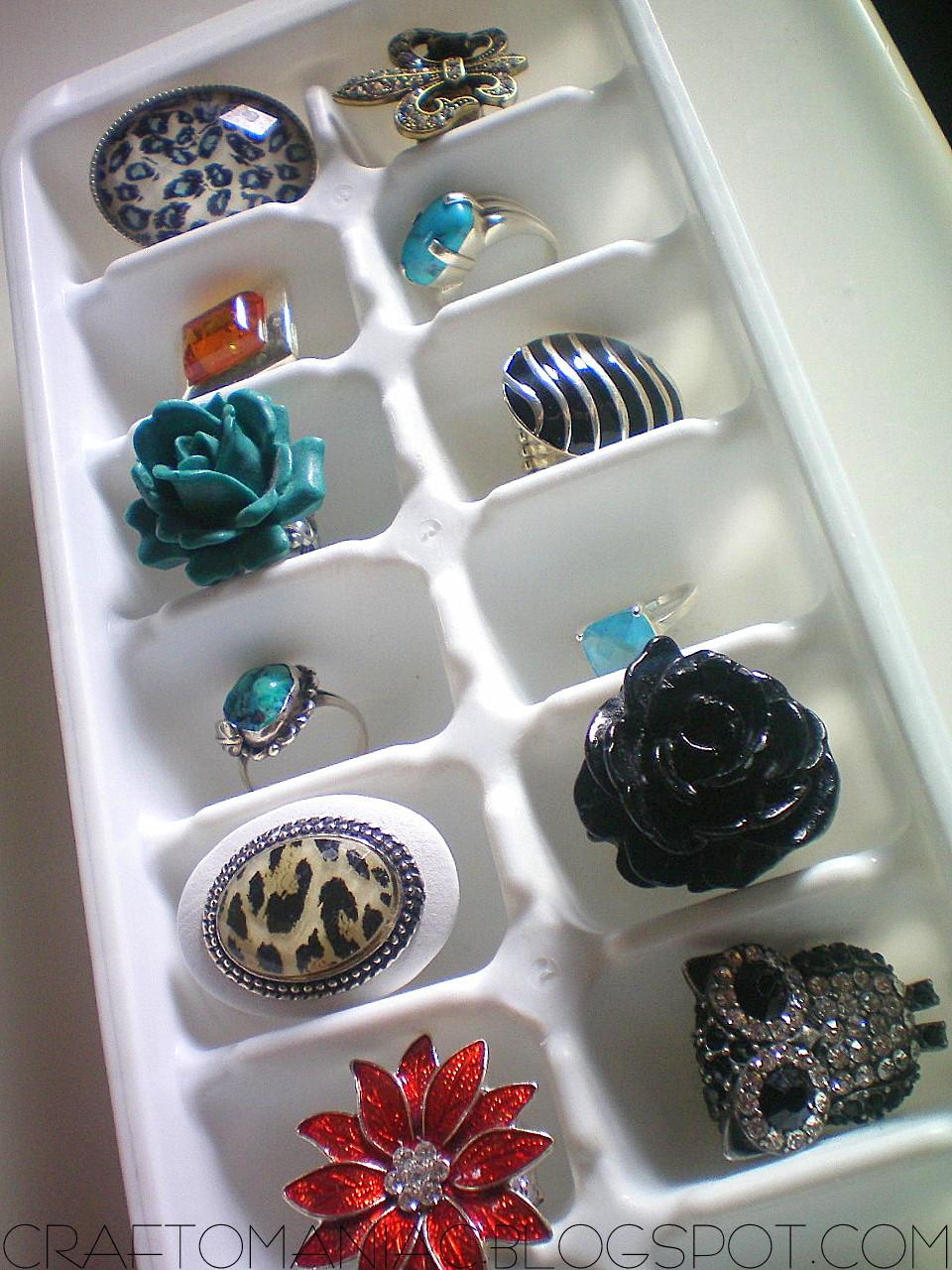 Getting OrganizedDIY Earring Necklace Holder CraftOManiac