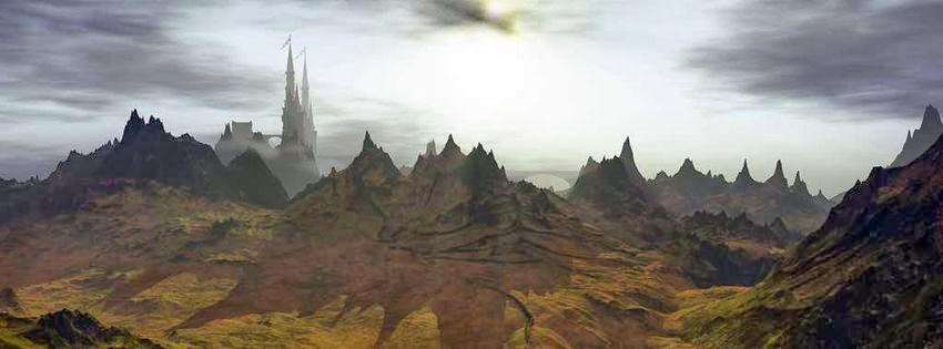 Image de couverture pour facebook HD paysage fantastique