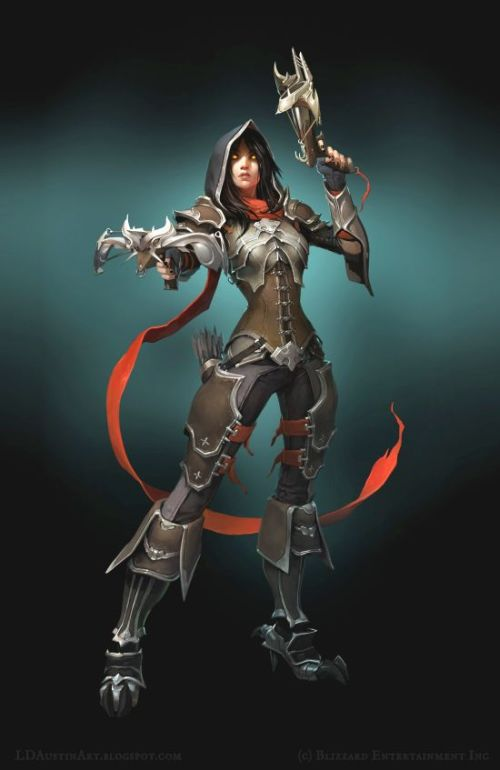 Laurel Austin ldaustin ilustrações fantasia games blizzard diablo starcraft world of warcraft artista conceitual