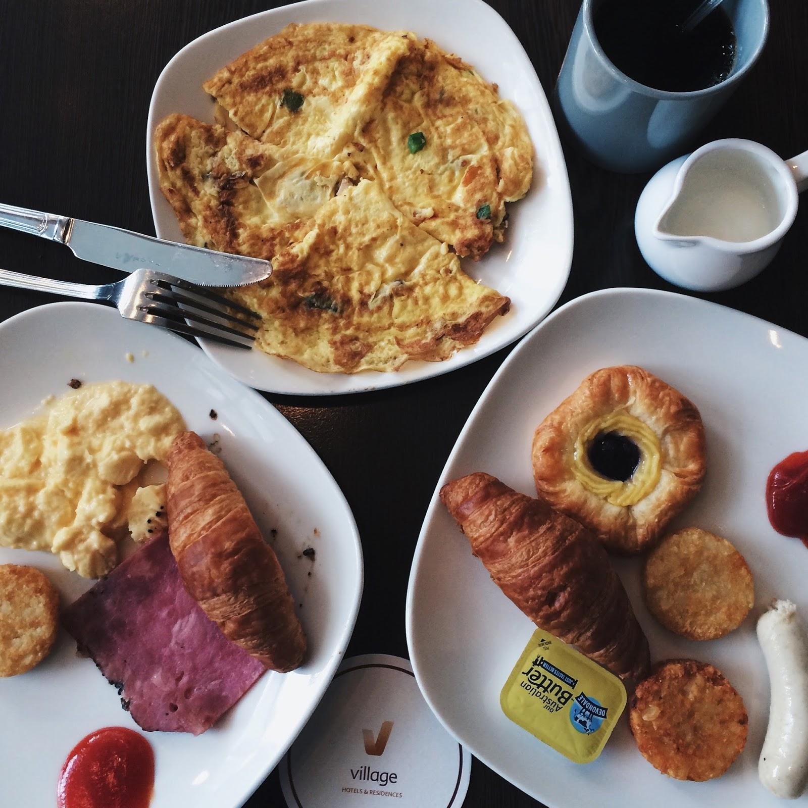 Village Hotel Changi, breakfast, hotel, singapore