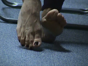 La expresión de los pies