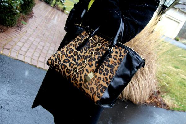 Milly Harper Calf Hair Tote Bag