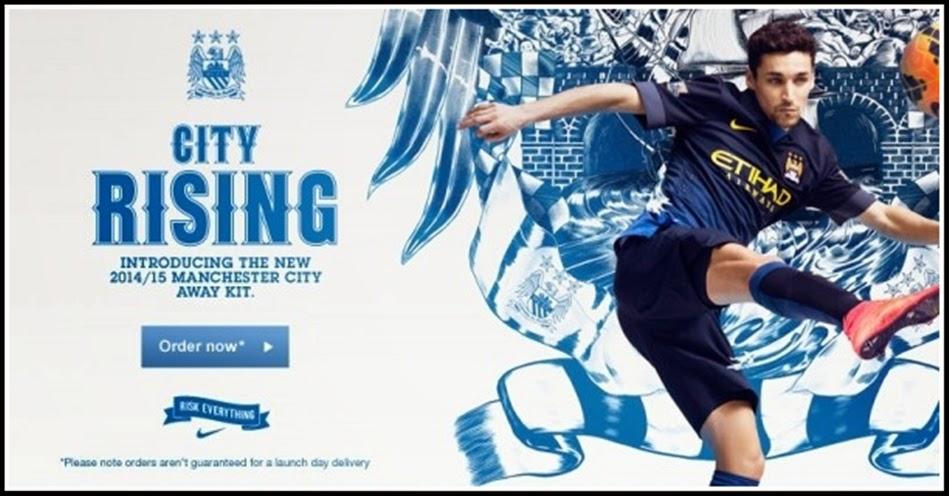 Manchester City - Away Socks 2014-15