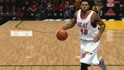 NBA 2K13 Udonis Haslem Face Player Update