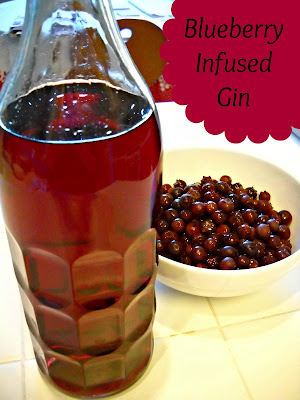 Recipe: Blueberry infused gin