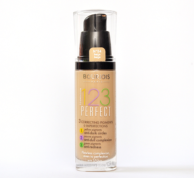 bourjois 123 perfect foundation review swatches wittybuzz. Black Bedroom Furniture Sets. Home Design Ideas