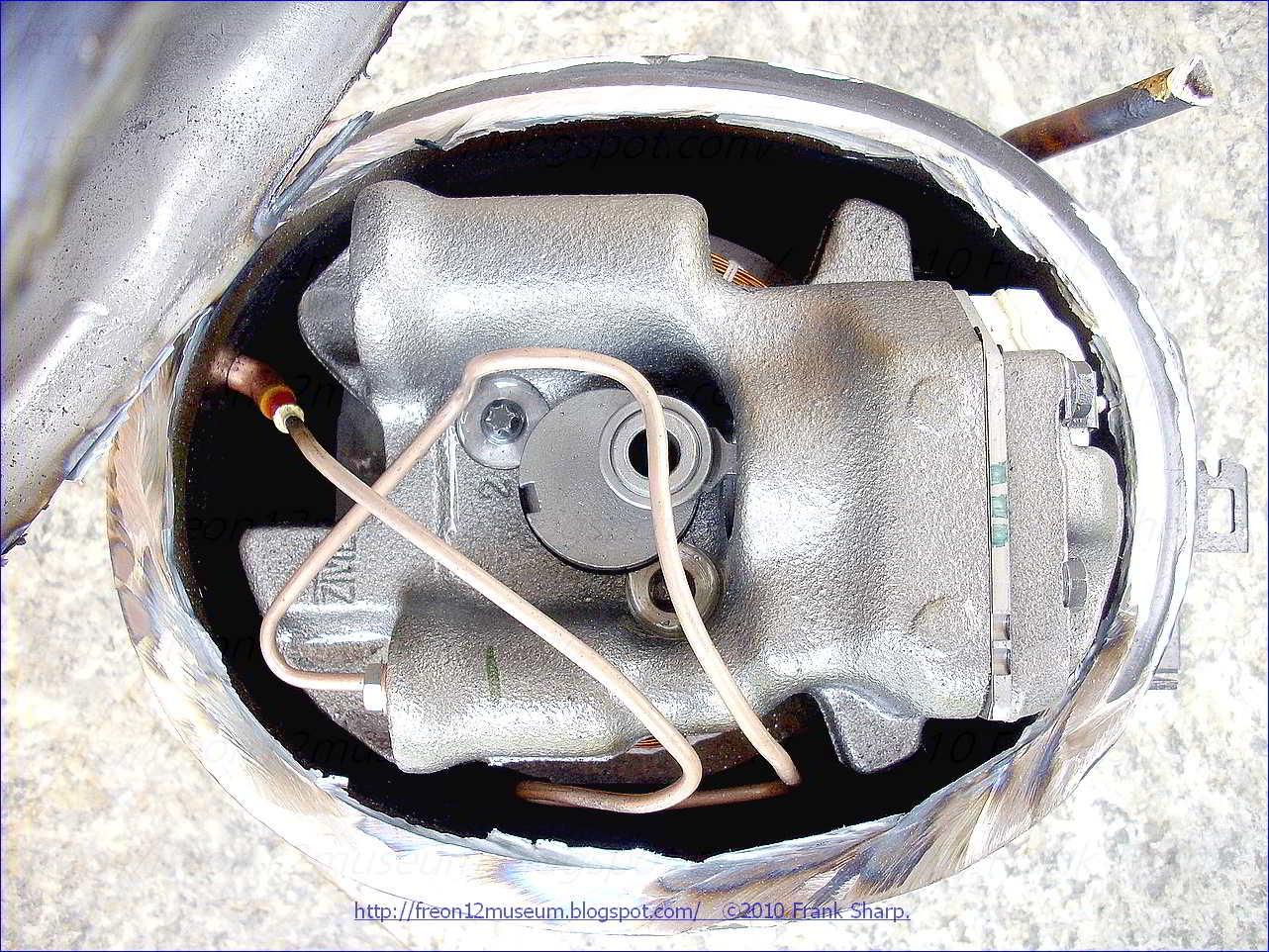 Inside Refrigerator Compressor