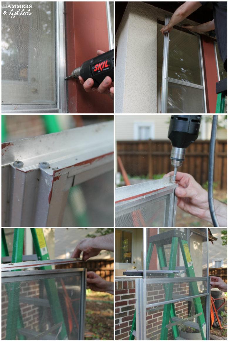 Hammers and High Heels: Head Over Heels DIY Friday: Window Screen ...