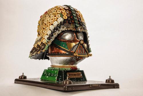 Darth Vader reciclado