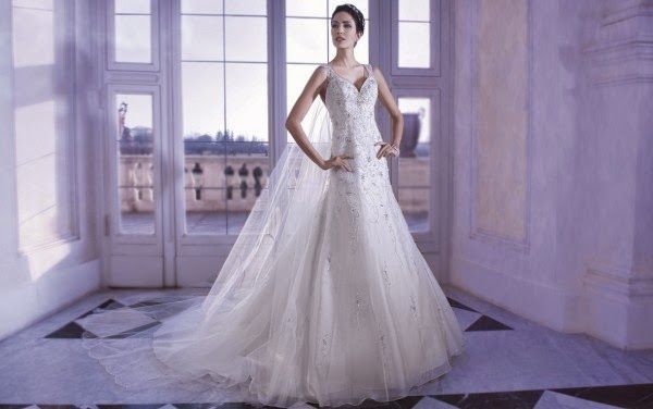 Romantic Wedding Dresses by Demetrios Couture 2