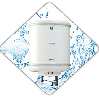 Crompton Greaves Radiant (ASWH406-IVY) Online, India - Pumpkart.com