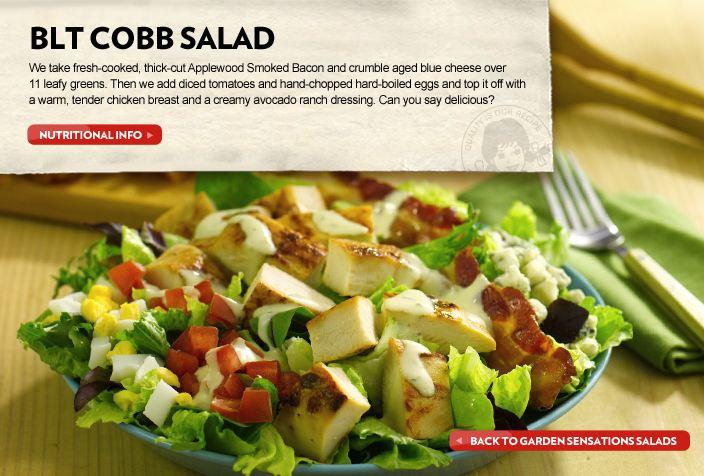 Wendys Menu Salads Fast Food Geek: Wendy'...