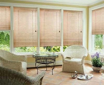 Estores cortinas modernas para tus ventanas cocinas - Combinar cortinas y estores ...