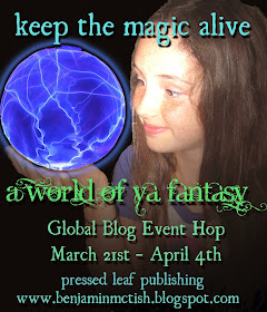 Join me in a YA Fantasy Hop (coming Mar 21)